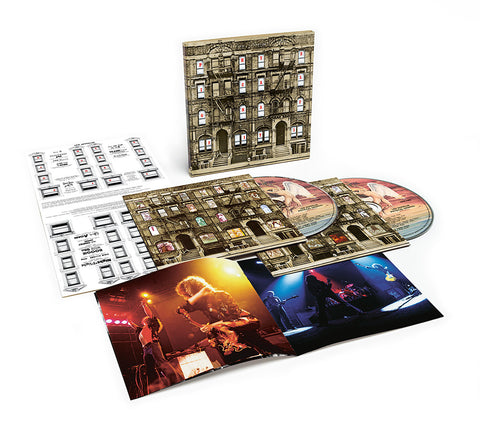 Led Zeppelin - Physical Graffiti on 2CD - direct audio