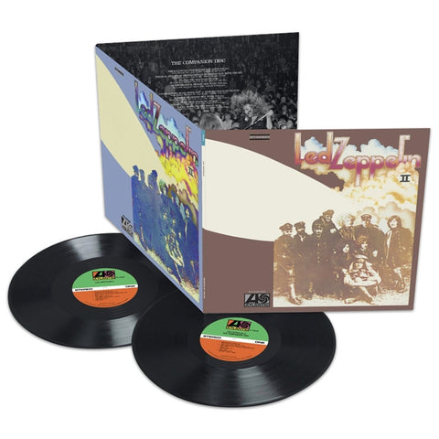 Led Zeppelin - Led Zeppelin II: Deluxe Edition 180g 2LP - direct audio