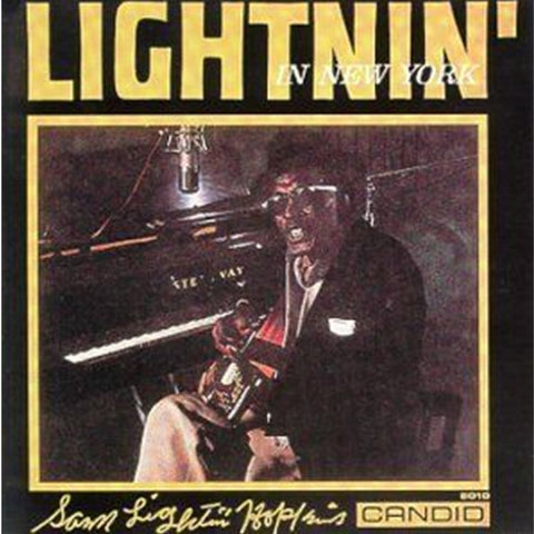 Lightnin' Hopkins - In New York City 180g Import Vinyl LP - direct audio