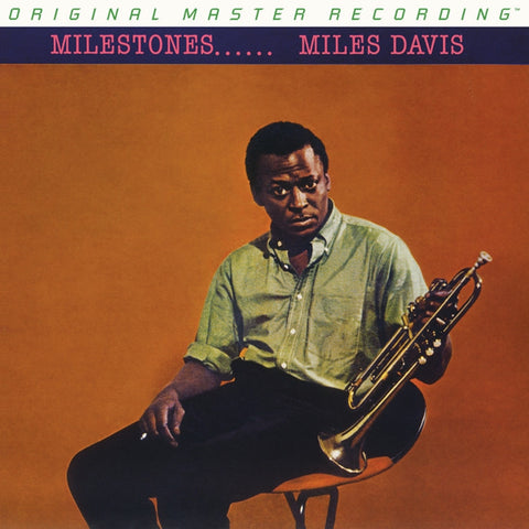 Miles Davis - Milestones on Numbered Limited Edition 180g Mono LP from Mobile Fidelity - direct audio