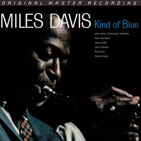 Miles Davis - Kind of Blue on Numbered Limited Edition 180g 45RPM 2LP Box Set from Mobile Fidelity (Awaiting Repress) - direct audio