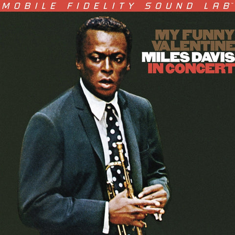 Miles Davis - My Funny Valentine on Numbered Limited Edition 180g LP from Mobile Fidelity - direct audio