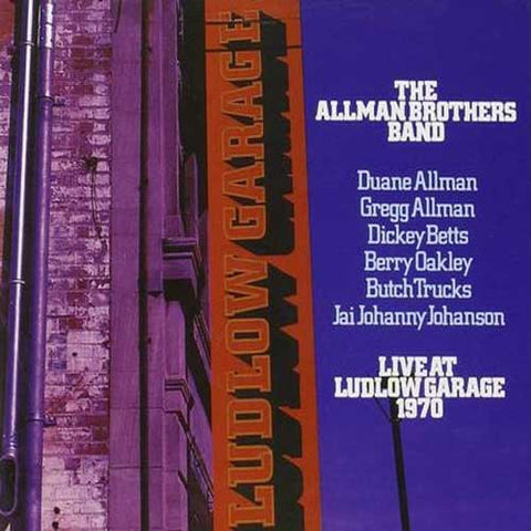 The Allman Brothers Band - Live At Ludlow Garage 1970 Direct Metal Master 180g 3LP - direct audio