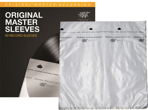Mobile Fidelity - Inner Sleeves (50Pk) direct audio