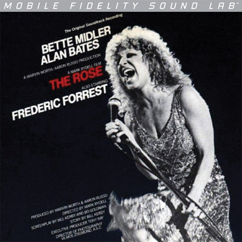 Bette Midler - The Rose on Numbered Limited Edition Vinyl LP from Mobile Fidelity Silver Label - direct audio