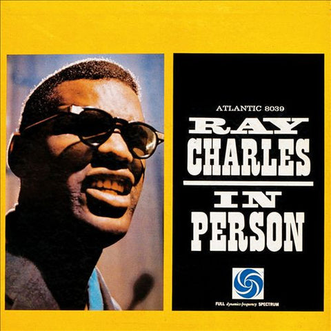Ray Charles - In Person on 180g Import LP - direct audio
