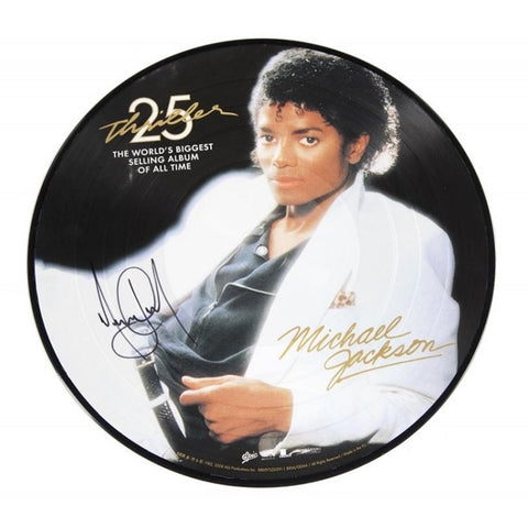 Michael Jackson - Thriller on Picture Disc Vinyl LP - direct audio