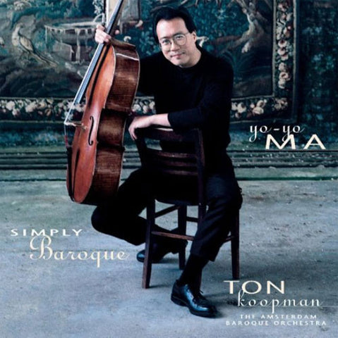 Yo-Yo Ma - Simply Baroque 180g Import 2LP + Download Card September 23 2016 Pre-order - direct audio
