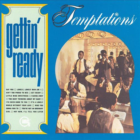 The Temptations - Gettin' Ready 180g Import Vinyl LP - direct audio