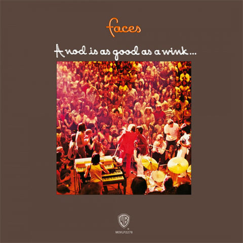 Faces A Nod Is As Good As A Wink...To A Blind Horse 180g Import Vinyl LP