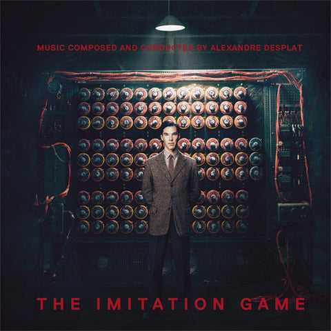 Alexandre Desplat: The Imitation Game Soundtrack Numbered Limited Edition 180g Import LP - direct audio