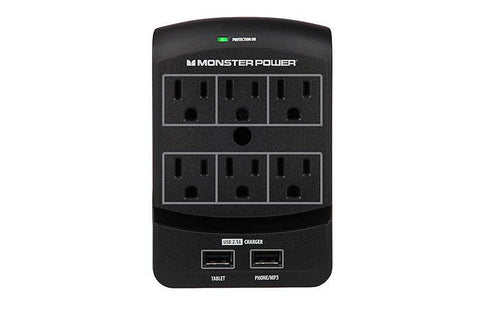 Monster® - Core Power® 650 USB Wall Outlet - direct audio