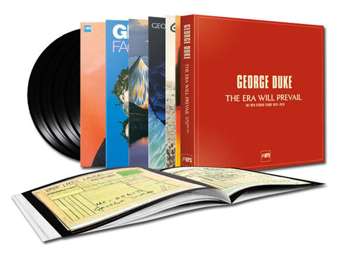 George Duke - The Era Will Prevail: The MPS Studio Years 1973-1976 on 180g 7LP Box Set - direct audio