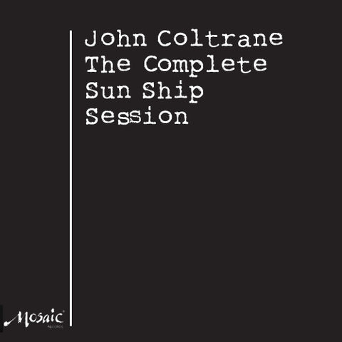 John Coltrane - The Complete Sun Ship Session on Numbered Limited Edition 180g 3LP Box Set - direct audio