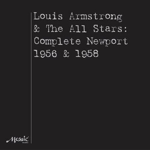 Louis Armstrong And The All Stars - Complete Newport 1956 And 1568 on Numbered Limited Edition 180g 4LP Box Set - direct audio