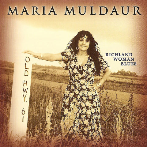 Maria Muldaur - Richland Woman Blues Import 180g Vinyl LP - direct audio