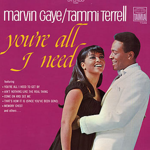 Marvin Gaye And Tammi Terrell - You're All I Need on 180g LP - direct audio