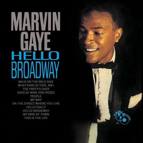 Marvin Gaye - Hello Broadway on 180g LP - direct audio