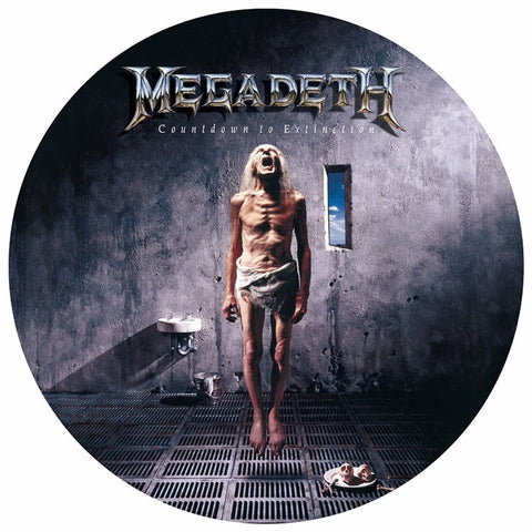 Megadeth - Countdown To Extinction Picture Disc Vinyl LP (Out of Stock) - direct audio