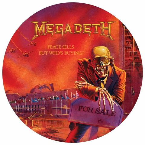 Megadeth - Peace Sells...But Who's Buying? Picture Disc Vinyl LP (Out Of Stock) - direct audio
