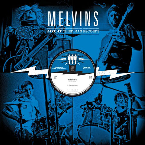 Melvins - Live At Third Man Records 5-30-2013 on LP - direct audio