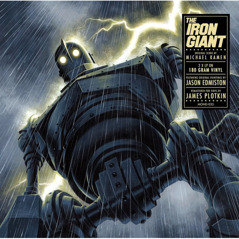 Michael Kamen - The Iron Giant: Original Score on Limited Edition 180g 45RPM 2LP - direct audio