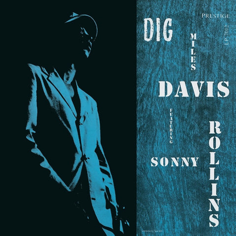 Miles Davis And Sonny Rollins - Dig on LP - direct audio