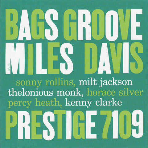 Miles Davis - Bags Groove Vinyl LP - direct audio