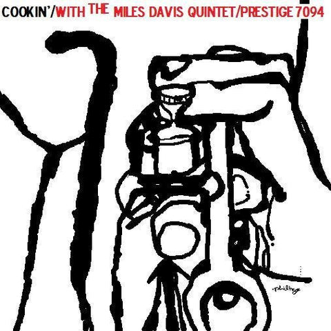 Miles Davis - Cookin' With The Miles Davis Quintet on Limited Edition 200g Mono LP - direct audio
