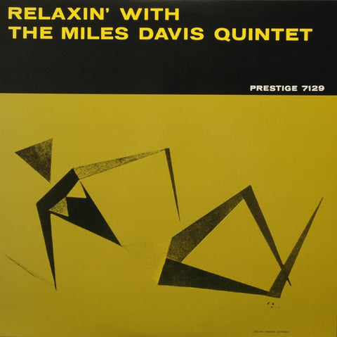 Miles Davis - Relaxin' With The Miles Davis Quintet on Limited Edition 200g Mono LP - direct audio
