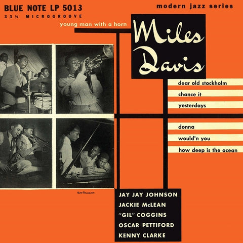 "Miles Davis - Young Man With A Horn on 10"" Vinyl - direct audio"