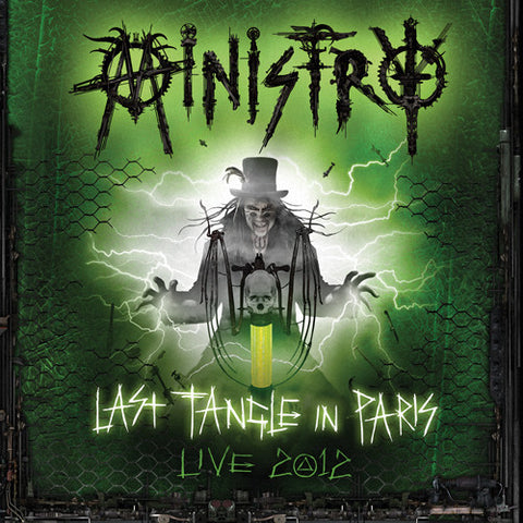 Ministry - Last Tangle In Paris: Live 2012 180g Vinyl 2LP (Backordered) - direct audio