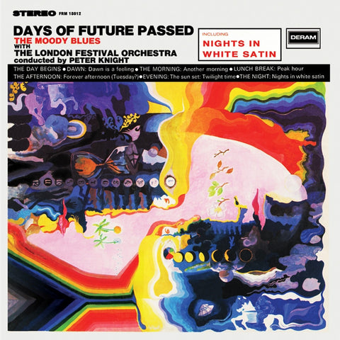 The Moody Blues - Days Of Future Passed on Limited Edition 180g LP - direct audio