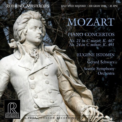 Mozart - Piano Concertos - Istomin - Schwarz - Seattle Symphony Orchestra 200g 45RPM 2LP - direct audio
