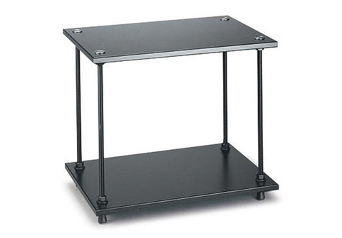 Salamander Designs - Archetype 2-Shelf Audio Stand (Black) - direct audio