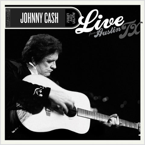 Johnny Cash - Live From Austin, TX on 180g LP - direct audio