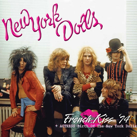 New York Dolls - French Kiss '74 + Actress: Birth Of The New York Dolls on Limited Edition 180g 2LP (Awaiting Repress) - direct audio