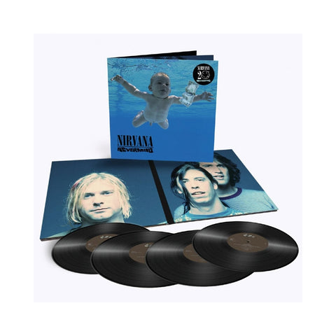 Nirvana - Nevermind: 20th Anniversary Deluxe Edition Limited Edition 180g 4LP Set - direct audio