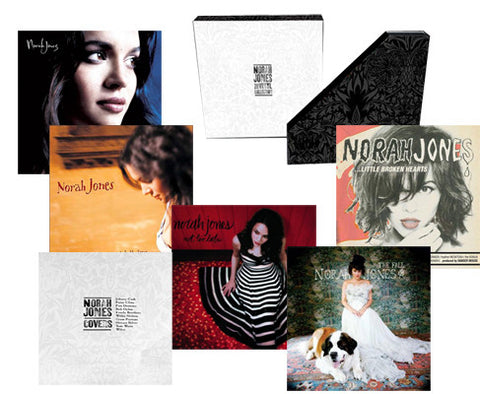 Norah Jones - The Vinyl Collection on Limited Edition 200g 6LP Box Set (Awaiting Repress) - direct audio