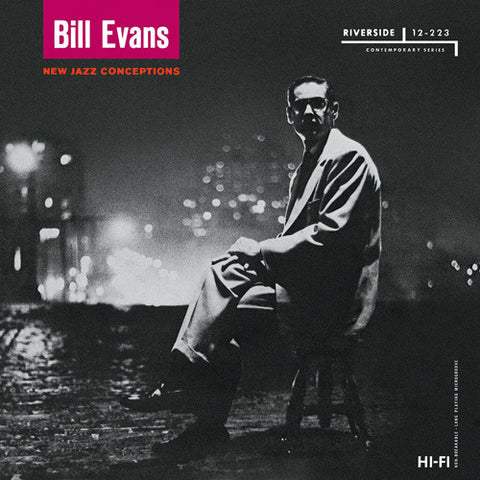 Bill Evans - New Jazz Conceptions on LP - direct audio