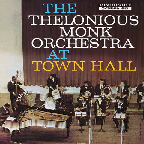 Thelonious Monk Orchestra - At Town Hall on LP - direct audio