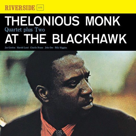 Thelonious Monk Quartet - At The Blackhawk on LP - direct audio