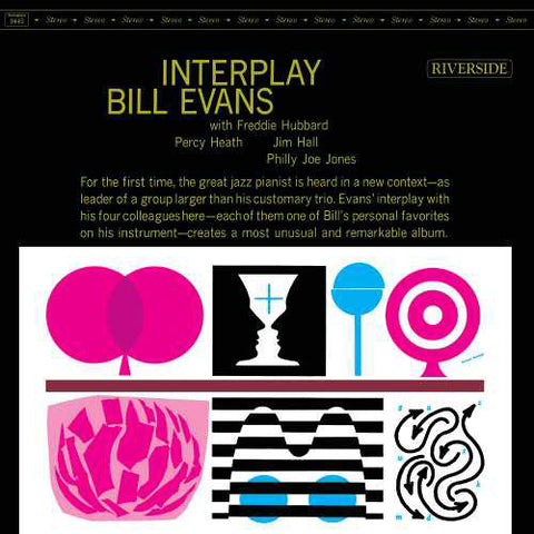 Bill Evans - Interplay on LP - direct audio