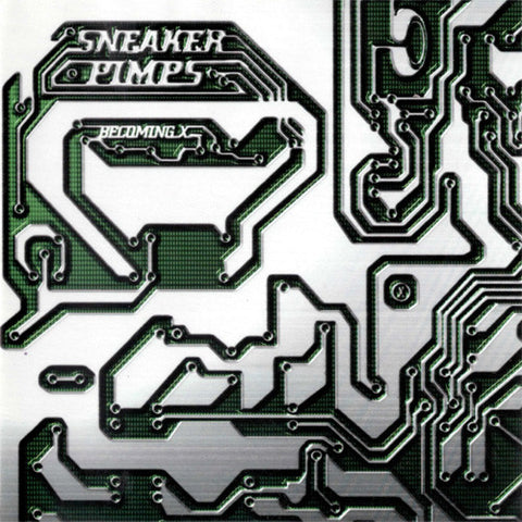 Sneaker Pimps - Becoming X Direct Metal Master on 45RPM Import 2LP TBA - direct audio