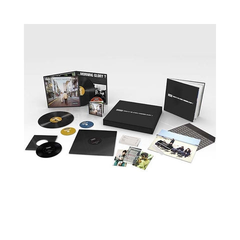 "Oasis - (What's The Story) Morning Glory Limited Edition 180g 2LP + 3CD + 12"" + 7"" + Cassette + 56-Page Book Deluxe Box Set - direct audio"