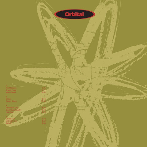 Orbital - Orbital (Green Album) 180g 2LP - direct audio