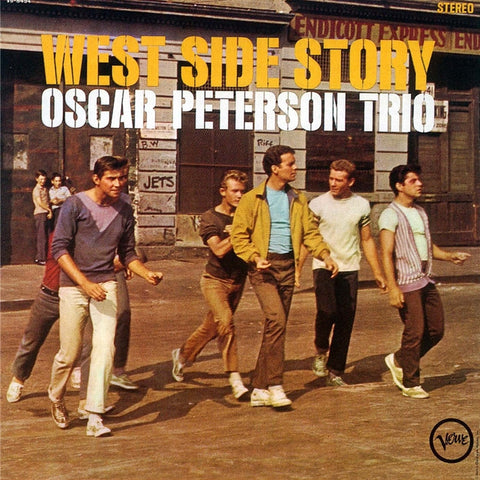 Oscar Peterson Trio - West Side Story on 200g 45RPM 2LP - direct audio