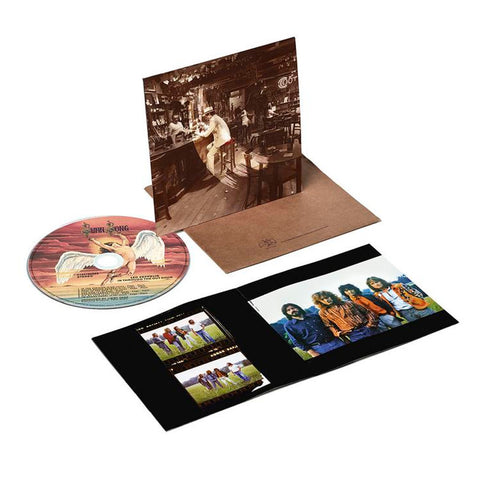 Led Zeppelin - In Through The Out Door on CD - direct audio