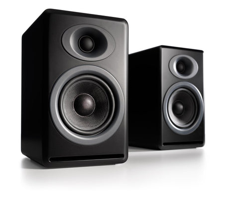 Audioengine P4 Passive Bookshelf Speakers Pair - direct audio