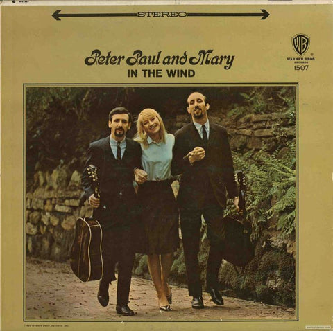 Peter, Paul And Mary - In The Wind on Numbered Limited Edition 180g 45RPM Vinyl 2LP - direct audio